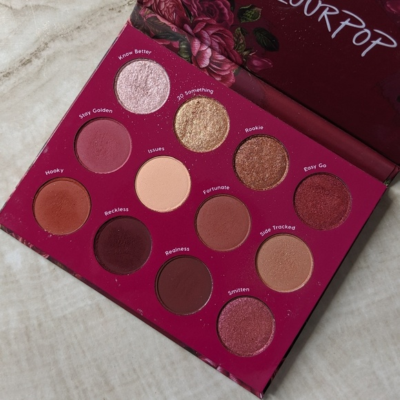 Exes & Oh's Pressed Powder Eyeshadow Palette by Colourpop #18